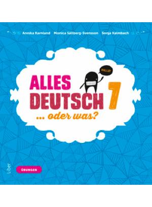 Alles Deutsch 7 Övningsbok.