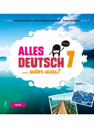 Alles Deutsch 7 Textbok.