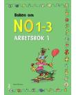 Omslag Boken om NO 1-3 Arbetsbok 1