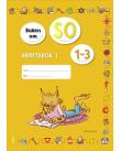 Omslag Boken om SO 1-3 Arbetsbok 1.