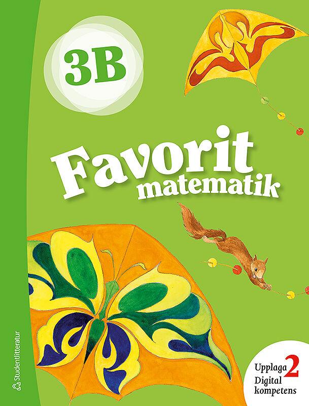 Framsida Favorit matematik 3B
