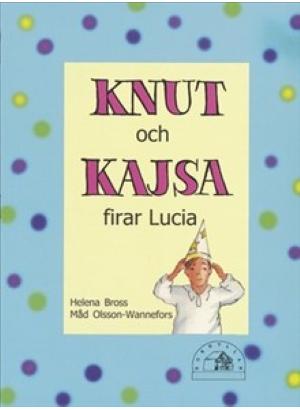 Omslag till Knut och Kajsa firar Lucia