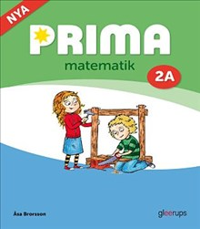 Omslag till Prima matematik 2A grundbok.