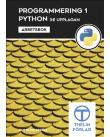 Omslaget till Programmering 1 med Python - Arbetsbok, 3:e upplagan