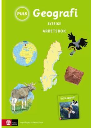 PULS Geografi 4-6 Sverige Arbetsbok.