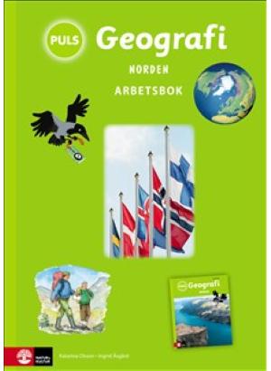 PULS Geografi 4-6 Norden Arbetsbok.