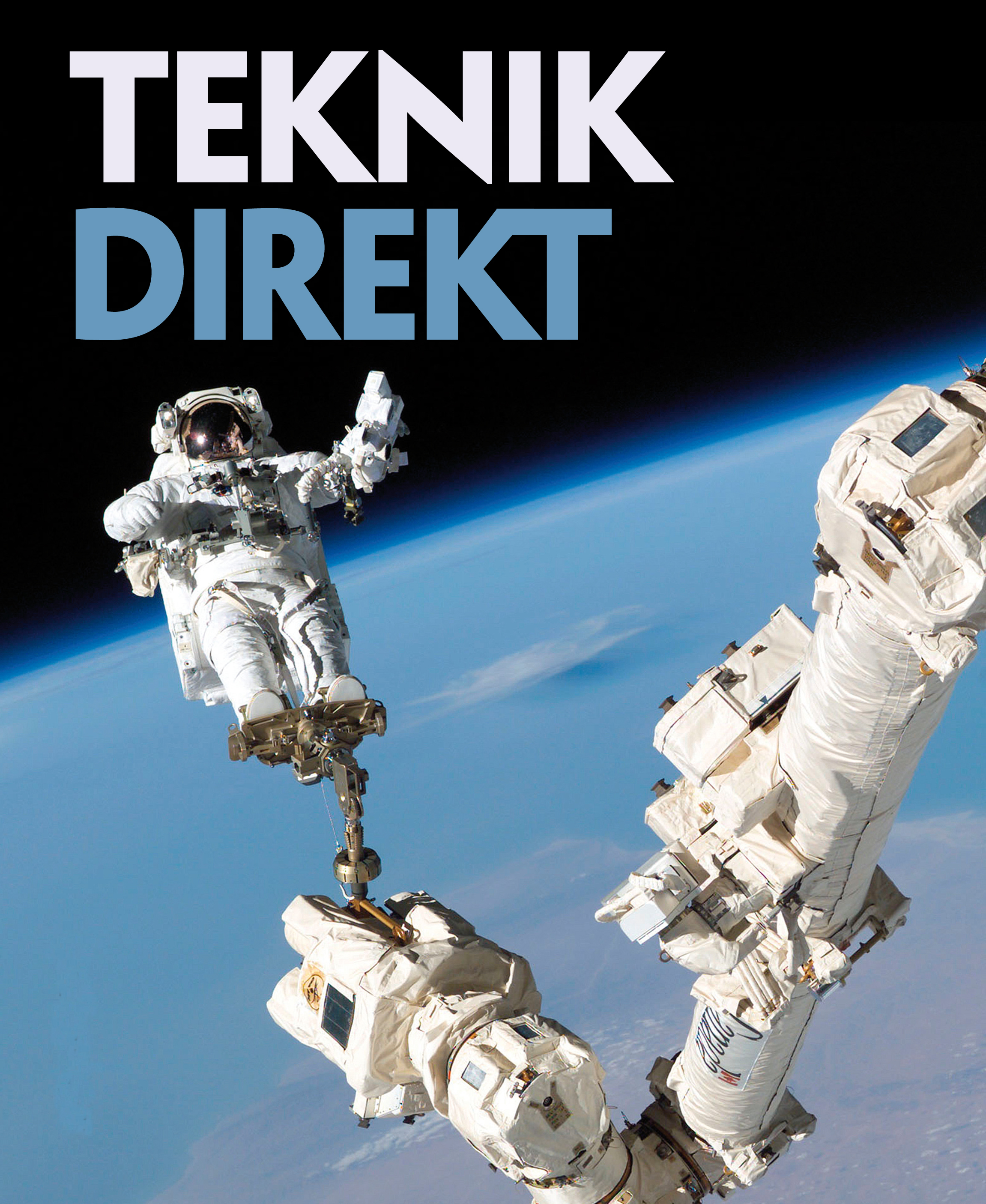 Astronaut på rymdpromenad.