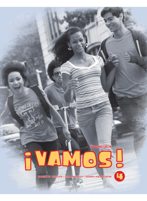 Grupp ungdomar går efter gatan.