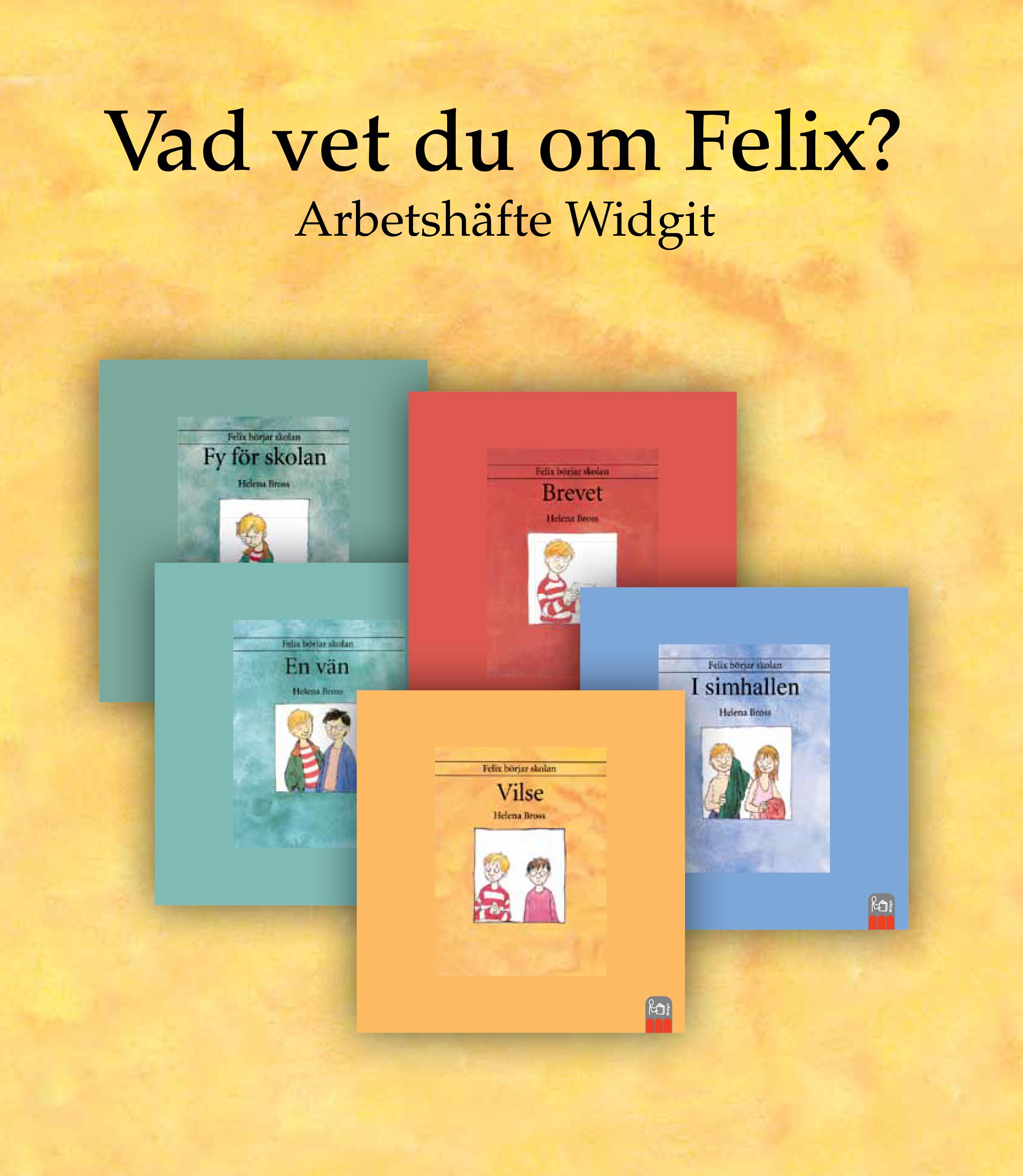 Felix i olika sammanhang som i skolan och en vän.