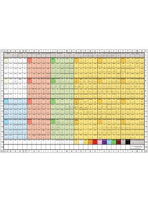 Isländsk standardkarta.