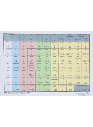 Sjukhuskarta standardblisskarta.