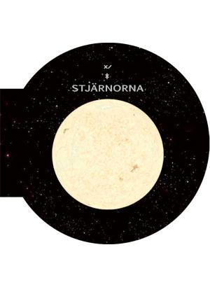 Stjärna omgiven av rymd och andra stjärnor.