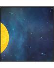 Solen och stjärnor i rymden.