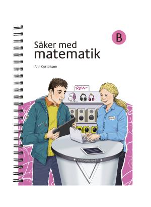 Omslag till Säker med matematik B