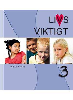 Fyra barn mot en blå bakgrund; en ser eftertänksam ut, två glada och den sista ledsen.