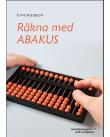 Räkna med abakus – övningsbok med svartskrift.