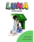 Luna källsorterar plast.