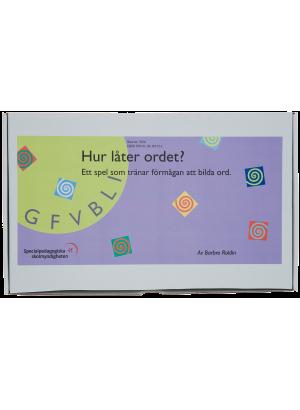 Låda som innehåller spelet Hur låter ordet.