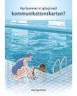 Barn och vuxen kommunicerar via kommunikationskartan.