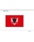 Taktil bild - Albansk flagga.