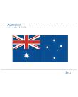 Taktil bild - Australiens flagga.