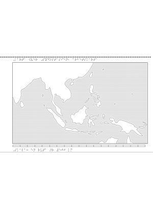Karta över Sydostasien.