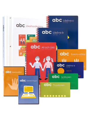 ABC punktskrift paket, lärarhandledning.