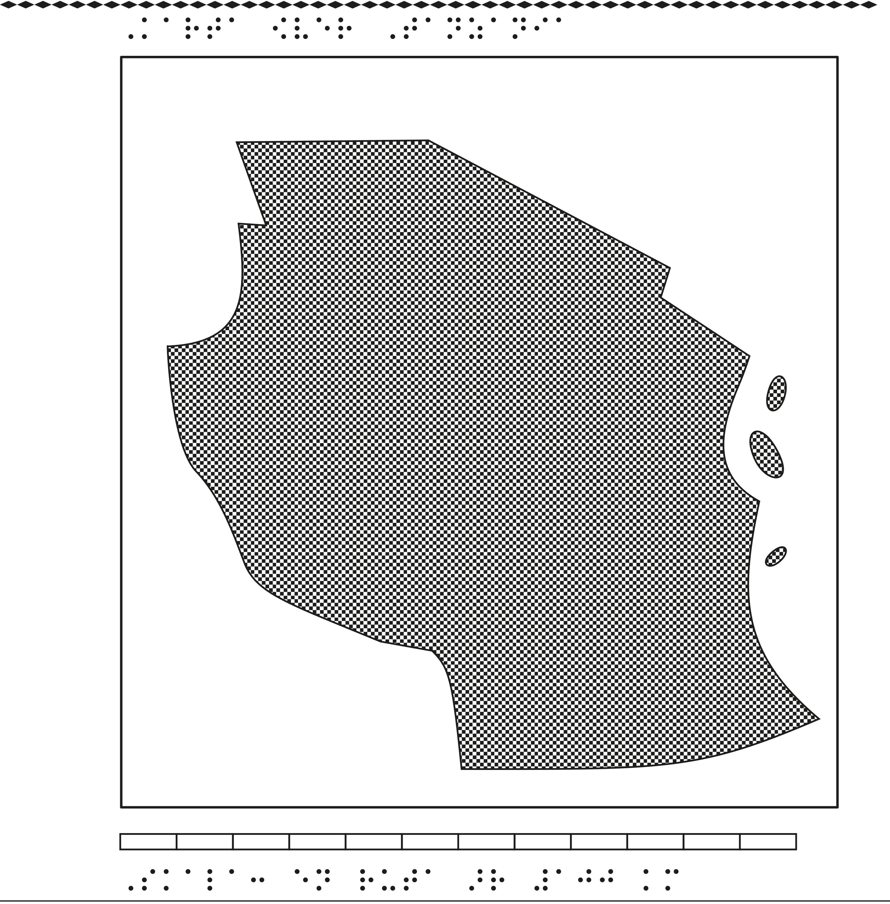 Karta över Tanzania.