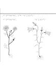 Blommorna baldersbrå och blåklocka.