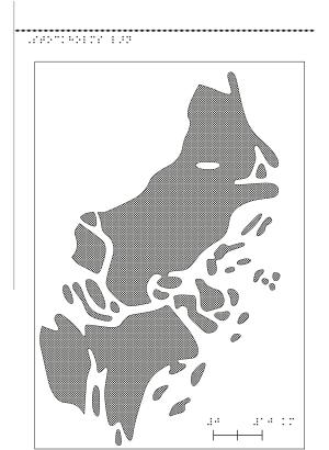 En kartbild över Stockholms län.