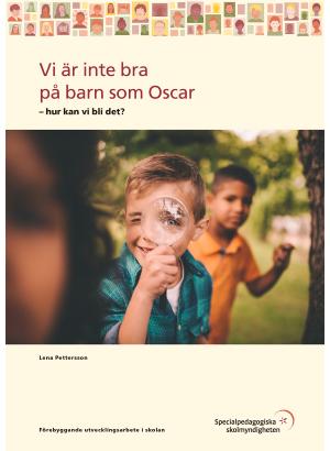 Omslag till vi är inte så bra på barn som oscar
