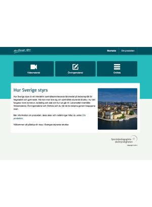 Gränssnitt Hur Sverige styrs.