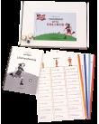 Grammar with colours, spel och lärarhandledning.