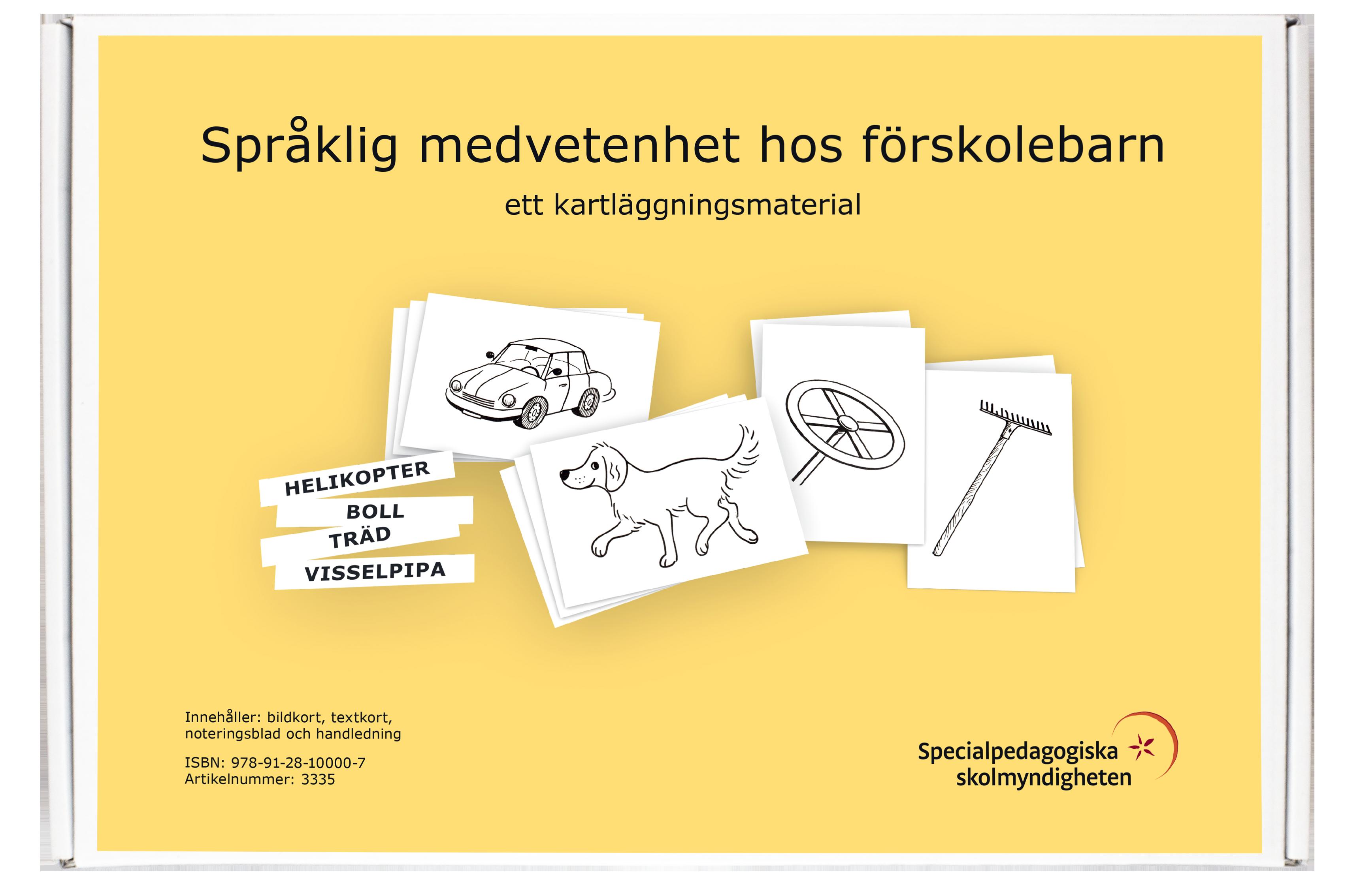 Språklig medvetenhet hos förskolebarn.