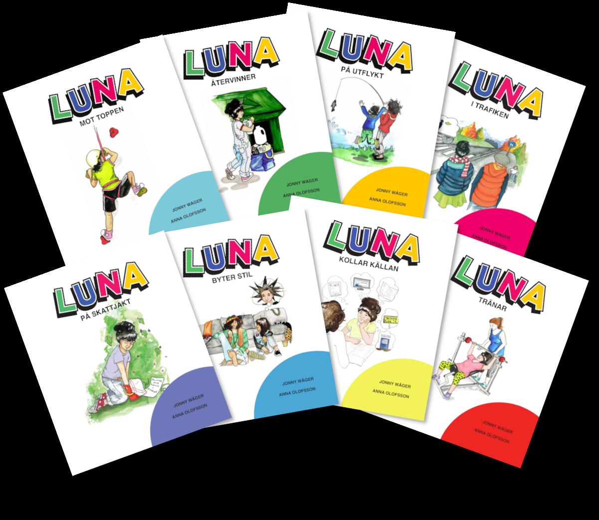 Framsida Luna books