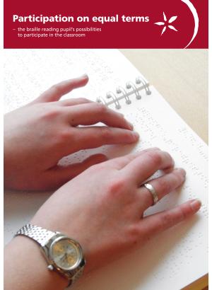 Två händer och punktskrift