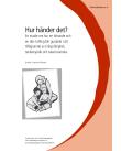 Framsidan av en studie, illustration av en vuxen och två barn som läser