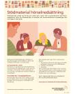 Stödmaterial hörselnedsättning – informationsblad.