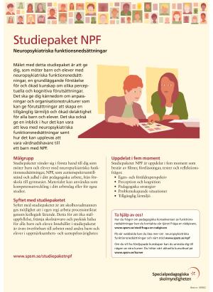 Informationsblad om Studiepaketet NPF.