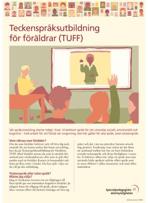 Teckenspråksutbildning för föräldrar TUFF.