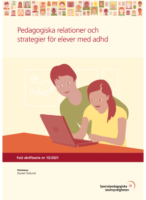 Omslag Pedagogiska relationer och strategier för elever med adhd.