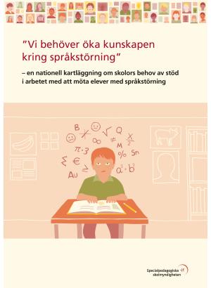 Vi behöver öka kunskapen kring språkstörning.